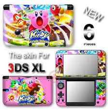 Kirby Popular New Vinyl Skin Sticker Decal Cover For Nintendo 3ds Xl Ebay