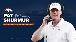 Broncos name Pat Shurmur as offensive coordinator