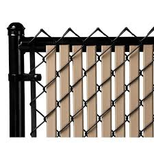 Beige 5ft Tube Slat For Chain Link Fence Walmart Com Walmart Com