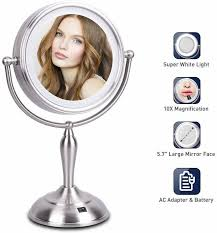 mirrormore lighted makeup mirror 7 5
