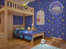 Cute Modern Planet Star Universe Space Wallpaper For Kids Room Boys Nursery Room Decor Space Wallpaper Wallpaper For Kidswallpapers For Aliexpress