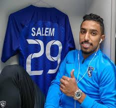سالم الدوسري أفضل لاعب سعودي لعام 2018