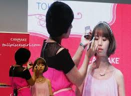 tokyo latest makeup trends with canmake