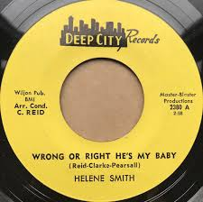 Helene Smith - Wrong Or Right He's My Baby (1967, Vinyl)   Discogs