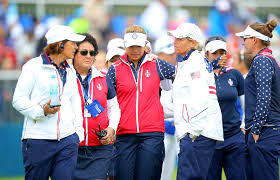 Juli Inkster, Wendy Ward, Nancy Lopez, Alison Lee - Wendy Ward Photos - The  Solheim Cup - Day Three - Zimbio