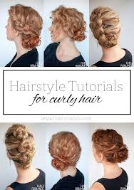 the best curly hairstyle tutorials for
