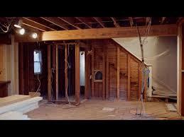 installing lvl beams during a