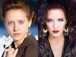 amazing before and after makeup photos