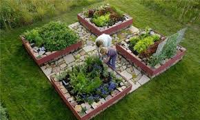 raised vegetable garden ideas and