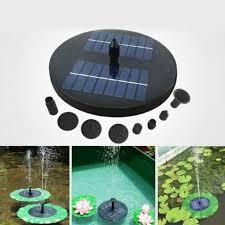 1 6 w solar water pump w led lights