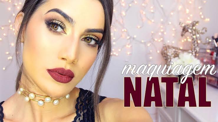 """Resultado de imagem para Maquiagem para o Natal 2019: i"""""""