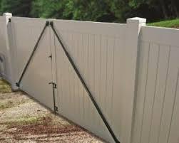 Vinyl Fence Gate Brace Vinyl Fence Fence Gate Gate Kit