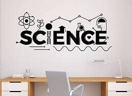 Amazon Com Science Wall Decal School Education Vinyl Sticker Classroom Interior Home Art Decor Ideas Bedroom Living Room Office Removable Murals Housewares 5 Nr Home Kitchen