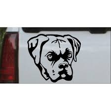Boxer Bulldog Car Or Truck Window Decal Sticker Walmart Com Walmart Com
