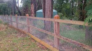 Chum Creek Fencing And Excavation Post And Rail Fence Backyard Fences Garden Gates And Fencing