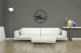 Huge Philadelphia 76ers Vinyl Sticker Decal Wall Art Man Cave 12 99 Picclick Uk