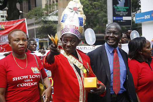 Image result for kenya king of condom""