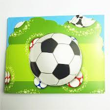 6 Unid Set Suministros Para Fiesta De Futbol Tarjeta De