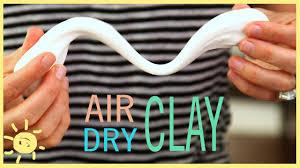 diy air dry clay easy recipe