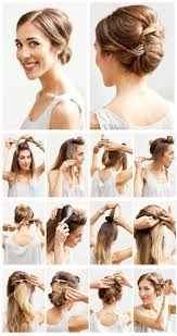wedding hairstyles tutorials for brides
