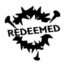 Redeemed Crown Of Thorns Christian Jesus God Car Window Vinyl Decal Sticker Ebay