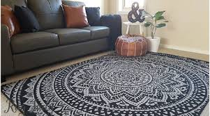 tips on ways to clean a large area rug