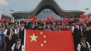 จนท.รถไฟอู่ฮั่นต้อนรับ 'มหกรรมเดินทาง' ช่วงหยุดยาววันชาติจีนXinhuaThai