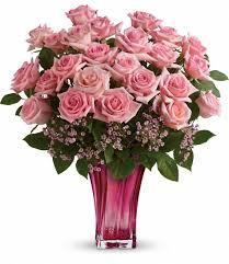 فازا ورود زهرية الللون زجاجية رائعة الجمال Florana فازا ورود