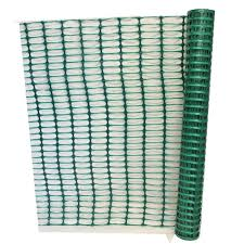 Green Barrier Fencing Mesh Plastic Temporary Fence