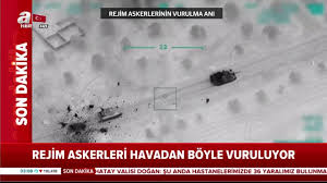 Son dakika! İdlib hem havadan hem karadan vurulmaya devam ediyor ...