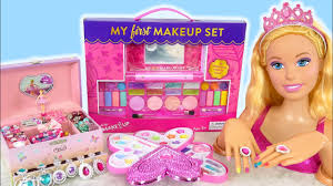 giant barbie styling doll makeover