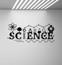 Science Wall Decal Sign Dna Decal School Classroom Poster Education Quote Vinyl Sticker Class Room Decor Chemical Wall Art C95 Wall Stickers Aliexpress