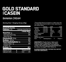 gold standard 100 casein optimum