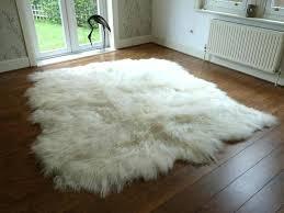 delightful sheepskin rug cleaning