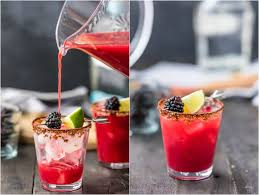 blackberry margaritas y margarita
