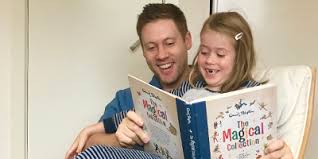 Introducing young kids to the magic of reading