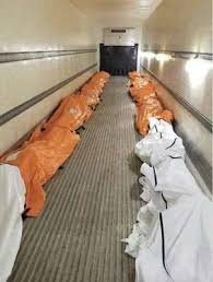 Thi thể bệnh nhân Covid-19 Mỹ chất đầy các xe tải đông lạnh