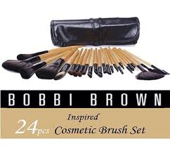 bobbi brown 24 pcs cosmetics brushes