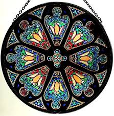 celtic glass designs decorative hand