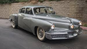 Preston Tucker's personal 1948 Tucker expected to command more than $1M at  January auction