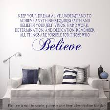 Home Decor Items If You Keep Believing Wall Vinyl Sticker Decal Quote Medicareresources Org