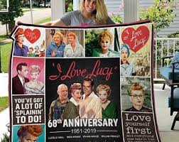I Love Lucy Wall Art Etsy