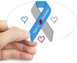 Amazon Com Cafepress Type 1 Diabetes Awareness R Sticker Oval Bumper Sticker Euro Oval Car Decal Home Kitchen
