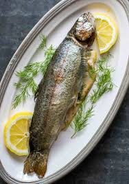 Grilled Trout with Dill and Lemon ...