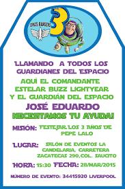 Invitacion Buzz Invitaciones De Toy Story Invitacion Cumpleanos