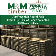 M M Timber Need Fencing Posts Strainer Rails We Have A Wide Range Available From Our Fencing Landscape Centre Agricised Unipost Round Pointed Uc4 1650mm X 85mm