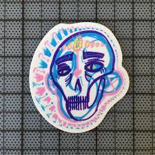 Third Eye Sticker Thick Vinyl Decal Etsy