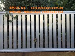 Outdoor Garden Fence Singapore