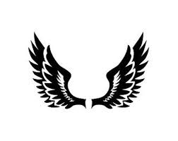 Wings Helmet Decal Etsy