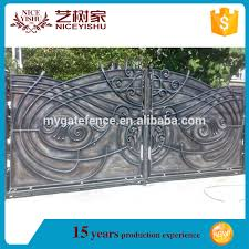 2016 Hot Sell New Modern Laser Cut Gate Design Philippines Iron Main Gate Designs Indian Aluminum House Main Gate Designs View Laser Cut Gates Yishujia Product Details From Shijiazhuang Yishu Metal Products
